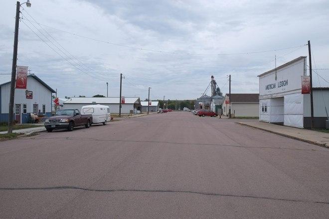 Downtown Montrose, the town where Greta's grandfather grew up