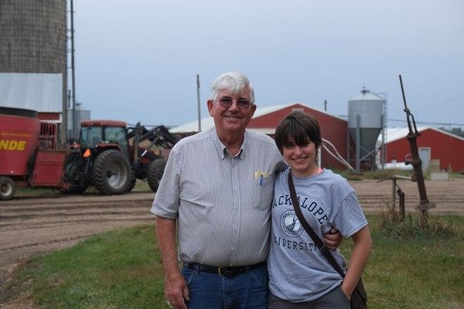 Greta's great-uncle Joe.