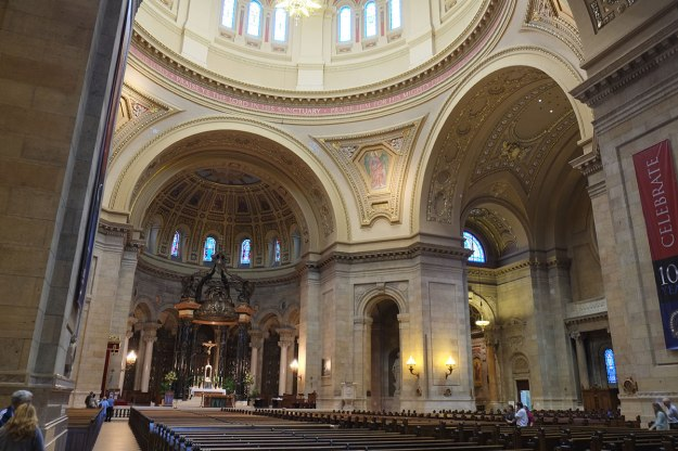 the cathedral in St. Paul. Why go to Paris?