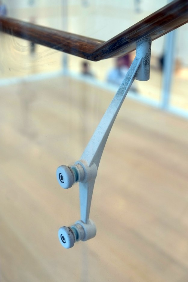 We spent a few years trying to find decent handrail brackets, and finally had to make our own. Does anyone know the store where Renzo buys his hardware?