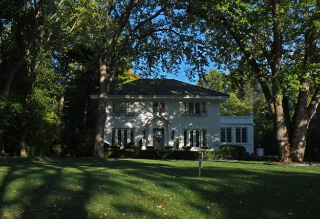 a somewhat typical mansion on the north side