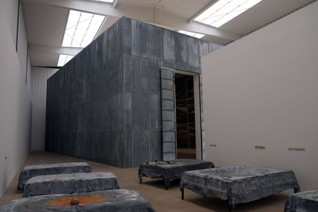 three big Kiefer installations
