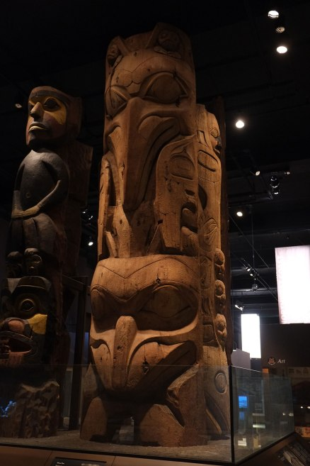 The Field has a great NW collection. This house pole was owned by Charles Edenshaw, who was Boas's informant in the Haida cutlture.
