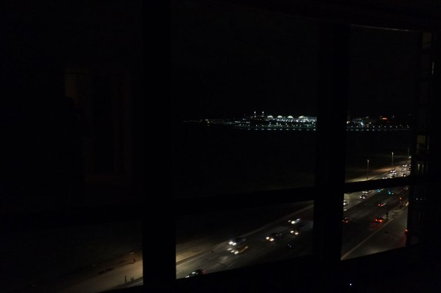 Nightime view on lake Shore Drive.