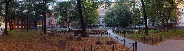 the Granary Burying Ground, on Tremont