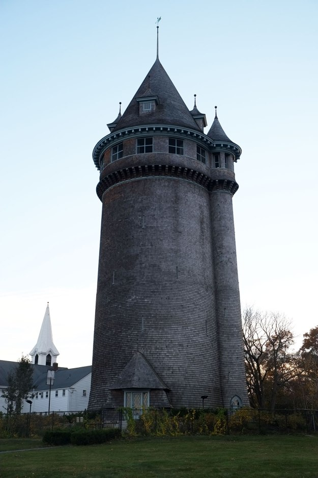 the very interesting water tower in Scituate