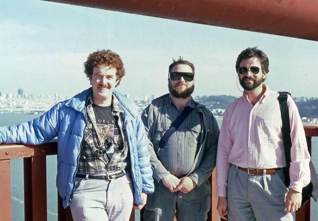Bob, Dan and me